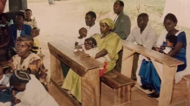Disan Buteera & Samuel Kyagera's graduation (2003)at Kanziira